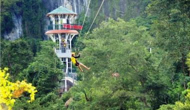 Tuyến du lịch Sông Chày - Hang Tối (tour hàng ngày)